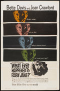 """Movie Posters:Thriller, What Ever Happened to Baby Jane? (Warner Brothers, 1962). One Sheet (27"""" X 41""""). Thriller.. ..."""