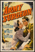 "Movie Posters:Drama, Army Surgeon (RKO, 1942). One Sheet (27"" X 41""). Drama.. ..."