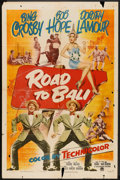 "Movie Posters:Comedy, Road to Bali (Paramount, 1952). One Sheet (27"" X 41""). Comedy.. ..."