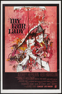 """My Fair Lady (Warner Brothers, 1964). One Sheet (27"""" X 41""""). Musical"""