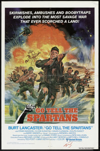 """Go Tell the Spartans (United Artists, 1977). One Sheet (27"""" X 41""""). War"""