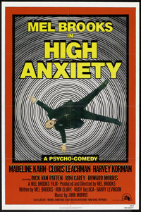 "High Anxiety (20th Century Fox, 1978). One Sheet (27"" X 41""). Comedy"