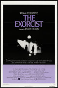 "Movie Posters:Horror, The Exorcist (Warner Brothers, 1974). One Sheet (27"" X 41"") Flat Folded. Horror.. ..."
