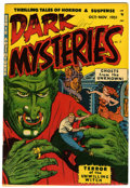 Golden Age (1938-1955):Horror, Dark Mysteries #3 (Master Publications, 1951) Condition: VF-....
