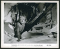 "Movie Posters:Horror, Frankenstein Meets the Wolf Man (Realart, R-1949). Stills (2) (8"" X10""). Horror.. ... (Total: 2 Items)"