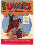 Platinum Age (1897-1937):Miscellaneous, The Funnies #2 (Dell, 1936) Condition: FN+....