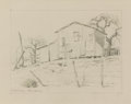 Mainstream Illustration, PORFIRIO SALINAS (American, 1910-1973). Old Texas House,1964. Graphite on paper. 7.5 x 9.5 in.. Signed lower left. A le...(Total: 2 Items)