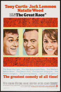 """The Great Race (Warner Brothers, 1965). One Sheet (27"""" X 41""""). Comedy"""