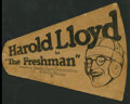 "Movie Posters:Comedy, The Freshman (Pathé, 1925). Promotional Megaphone (9"" X 11.5"").Comedy.. ..."