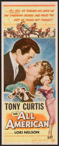 """Movie Posters:Sports, The All American (Universal International, 1953). Insert (14"""" X 36""""). Sports.. ..."""