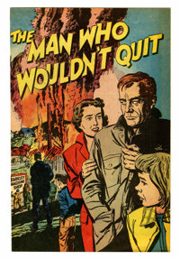 The Man Who Wouldn't Quit #nn File Copy Group (Harvey, 1952) Condition: Average VF/NM.... (Total: 13 Comic Books)
