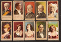 "Non-Sport Cards:Sets, 1901-02 T175 ""Heroes of the Spanish War"" (13) and T176 ""Actresses""Complete Set (24). ..."