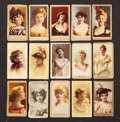 """Non-Sport Cards:Lots, 1890's-1900's """"N' and """"T"""" Actresses Group of (68). ..."""