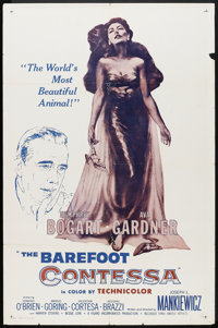 """The Barefoot Contessa (United Artists, R-1960s). One Sheet (27"""" X 41""""). Drama"""