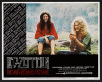 """The Song Remains the Same (Warner Brothers, 1976). Lobby Card Set of 8 (11"""" X 14""""). Rock and Roll. ... (Total:..."""