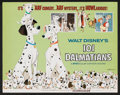 "Movie Posters:Animated, 101 Dalmatians Lot (Buena Vista, R-1969). Title Lobby Card andLobby Cards (5) (11"" X 14"") and Stand-Up (9"" X 13""). Animated...(Total: 7 Items)"