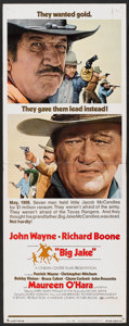"Movie Posters:Western, John Wayne Lot (Various, 1970s). Insert (14"" X 36"") and Lobby Cards (4) (11"" X 14""). Western.. ... (Total: 5 Items)"