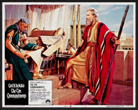 "The Ten Commandments (Paramount, R-1972). Lobby Cards (6) (11"" X 14"") and Color Stills (5) (8"" X 10""..."