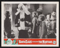 "Santa Claus Conquers the Martians (Embassy, 1964). Lobby Cards (2) (11"" X 14""). Fantasy. ... (Total: 2 Items)"