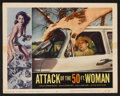 """Movie Posters:Science Fiction, Attack of the 50 Foot Woman (Allied Artists, 1958). Lobby Cards (2)(11"""" X 14""""). Science Fiction.. ... (Total: 2 Items)"""