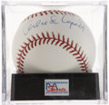 Autographs:Baseballs, Orlando Cepeda Single Signed Baseball PSA Mint 9....