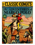 Golden Age (1938-1955):Classics Illustrated, Classic Comics #27 Adventures of Marco Polo - First edition(Gilberton, 1946) Condition: FN....