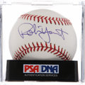Autographs:Baseballs, Robin Yount Single Signed Baseball PSA Mint+ 9.5. ...