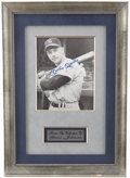 Autographs:Photos, Mickey Mantle Signed Photograph from the Greer Johnson Collection....