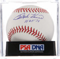 Autographs:Baseballs, Ralph Kiner Single Signed Baseball PSA Gem Mint 10. ...