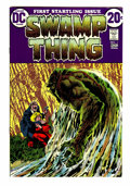 Bronze Age (1970-1979):Horror, Swamp Thing #1 (DC, 1972) Condition: VF/NM....
