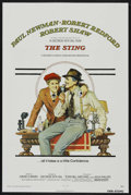 "Movie Posters:Crime, The Sting (Universal, 1974). One Sheet (27"" X 41""). Crime. StarringPaul Newman, Robert Redford, Robert Shaw, Eileen Brennan..."