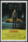 "Movie Posters:Crime, Taxi Driver (Columbia, 1976). One Sheet (27"" X 41""). Crime.Starring Robert De Niro, Jodie Foster, Cybill Shepherd, Peter Bo..."