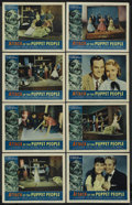 """Movie Posters:Science Fiction, Attack of the Puppet People (American International, 1958). LobbyCard Set of 8 (11"""" X 14""""). Science Fiction. Starring John ...(Total: 8)"""