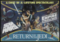"""Movie Posters:Science Fiction, Star Wars Trilogy Combo (20th Century Fox, 1983). British Quad (27.75"""" X 40""""). Science Fiction. Starring Mark Hamill, Harris..."""