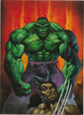 Original Comic Art:Covers, Simon Bisley - Hulk/Wolverine: 6 Hours #3 Cover Original Art(Marvel, 2003)....