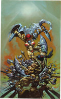 Original Comic Art:Covers, Simon Bisley - Melting Pot: Book Four Cover Illustration OriginalArt (Kitchen Sink, 1994)....