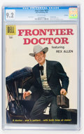 Silver Age (1956-1969):Western, Four Color #877 Frontier Doctor - File Copy (Dell, 1958) CGC NM-9.2 Off-white pages....