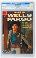 Silver Age (1956-1969):Western, Four Color #876 Tales of Wells Fargo - File Copy (Dell, 1958) CGCNM 9.4 Off-white to white pages....