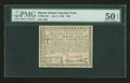 Colonial Notes:Rhode Island, Rhode Island July 2, 1780 $20 PMG About Uncirculated 50 EPQ....