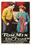 "Movie Posters:Western, The Feud (Fox, 1919). One Sheet (27"" X 41"").. ..."