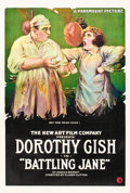 "Movie Posters:Drama, Battling Jane (Paramount, 1918). One Sheet (27"" X 41"").. ..."