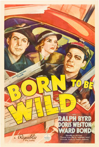 "Born to Be Wild (Republic, 1938). One Sheet (27"" X 41"")"