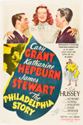 "Movie Posters:Romance, The Philadelphia Story (MGM, 1940). Autographed One Sheet (27"" X41"") Style C.. ..."