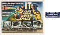 "Movie Posters:Science Fiction, It Came from Outer Space (Universal International, 1953). TitleLobby Card (11"" X 14"") 3-D Style.. ..."