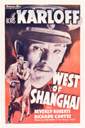 "Movie Posters:Adventure, West of Shanghai (Warner Brothers, 1937). One Sheet (27"" X 41"")....."
