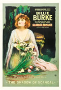 "Movie Posters:Drama, Gloria's Romance (K-E-S-E Service, 1916). One Sheet (28.25"" X 42"")""The Shadow of Scandal."". ..."