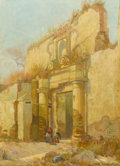 Western:20th Century, CARL OSCAR BORG (American, 1879-1947). Mexico. Oil on canvas. 30 x 22 inches (76.2 x 55.9 cm). Signed lower right: Ca...