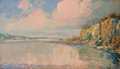 Texas:Early Texas Art - Regionalists, FRANZ STRAHALM (American, 1879-1935). Landscape. Oil onboard. 7 x 12 inches (17.8 x 30.5 cm). Signed lower right:Fra...