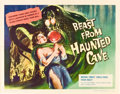 """Movie Posters:Science Fiction, Beast from Haunted Cave (Film Group, 1959). Half Sheet (22"""" X28"""").. ..."""