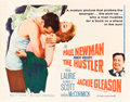 "Movie Posters:Drama, The Hustler (20th Century Fox, 1961). Half Sheet (22"" X 28"").. ..."